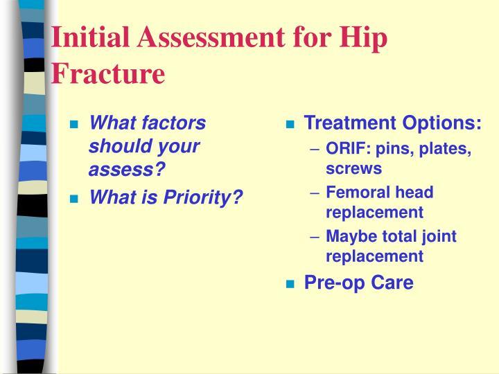 What factors should your assess?