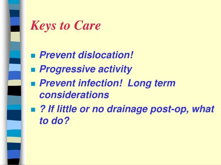 Keys to Care