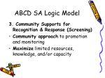 abcd sa logic model1