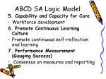 abcd sa logic model4
