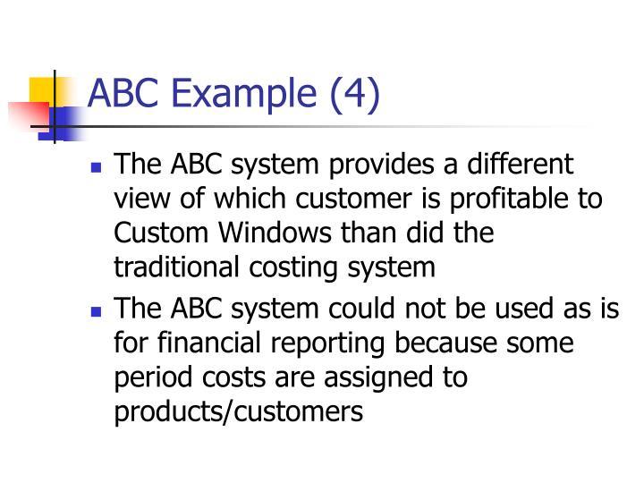 ABC Example (4)