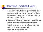 plantwide overhead rate1