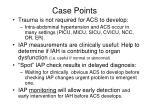 case points