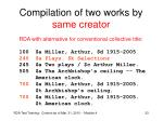 compilation of two works by same creator1