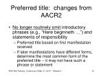 preferred title changes from aacr2