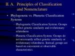 ii a principles of classification and nomenclature1