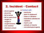 2 incident contact