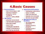 4 basic causes