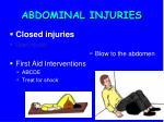 abdominal injuries1
