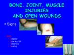 bone joint muscle injuries and open wounds1