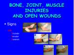 bone joint muscle injuries and open wounds2