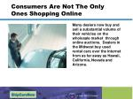 consumers are not the only ones shopping online