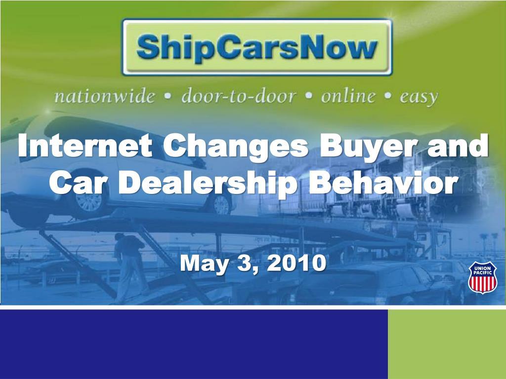 internet changes buyer and car dealership behavior l.