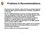 problems recommendations4