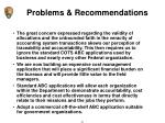 problems recommendations6