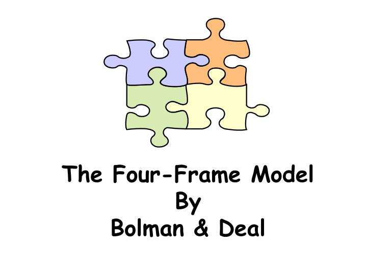 political frame thesis bolman Issues in information systems • the political frame - power and the perception of power are the heart of bolman and deal's political frame concept.