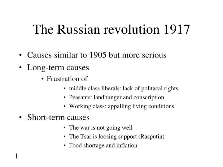 the russian revolution 1917 n.