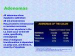 adenomas