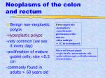 neoplasms of the colon and rectum