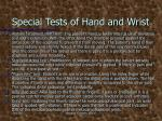 special tests of hand and wrist4