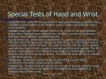 special tests of hand and wrist5