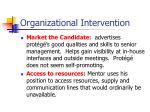 organizational intervention