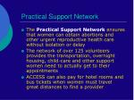 practical support network