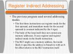 register indirect addressing2