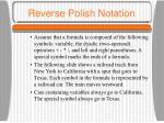 reverse polish notation1