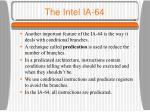 the intel ia 644