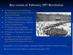key events of february 1917 revolution