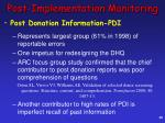 post implementation monitoring2