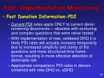 post implementation monitoring3
