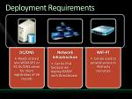 deployment requirements1