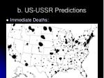 b us ussr predictions