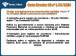 carta circular bc n 3 151 2004