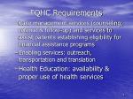 fqhc requirements3