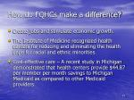 how do fqhcs make a difference2