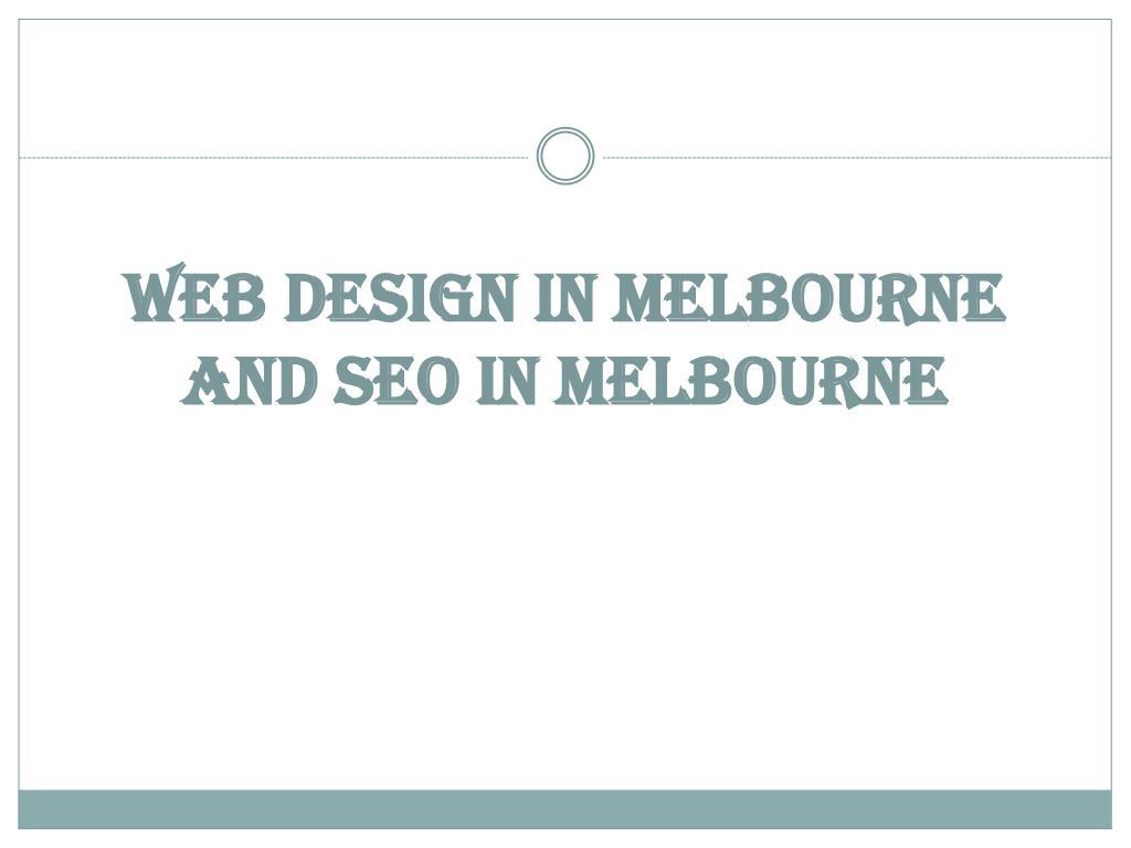 web design in melbourne and seo in melbourne l.