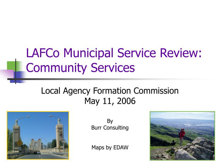 lafco municipal service review community services n.