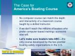 the case for america s boating course3
