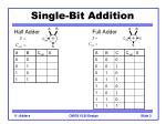 single bit addition