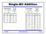 single bit addition1