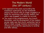 the modern world the 19 th century