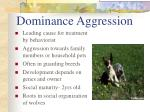 dominance aggression
