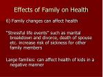 effects of family on health5