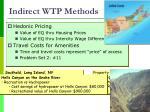 indirect wtp methods1