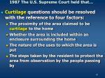 1987 the u s supreme court held that