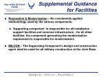 supplemental guidance for facilities1