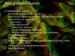 anti parasitic agents